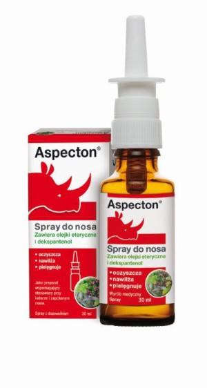 Aspecton – innowacyjny spray do nosa