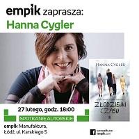 Hanna Cygler promuje swoją książkę w Empiku
