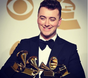 Sam Smith. Grammy