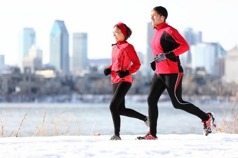 para biega w zimie