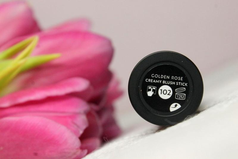Golden Rose Creamy Blush Stick róż w sztyfcie nr 102