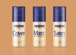 podkłady Soraya make up aqua
