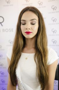 makijaż Golden Rose