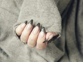 paznokcie w świątecznym stylu