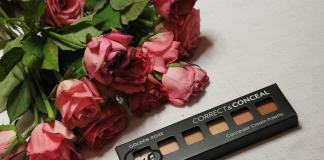 Golden Rose paleta korektorów