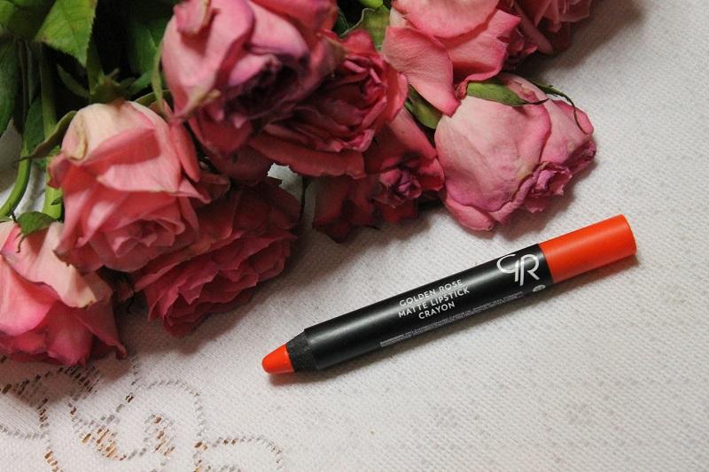 Golden Rose Matte Crayon Lipstick nr 24