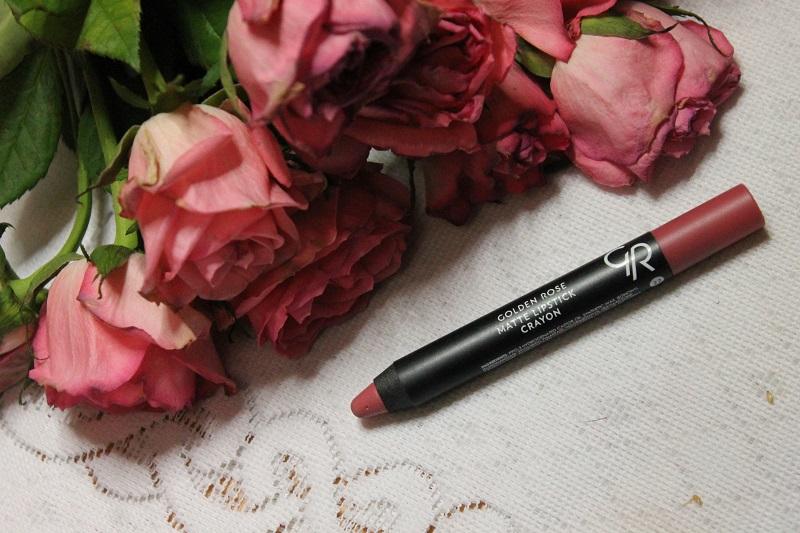 Golden Rose Matte Crayon Lipstick nr 22