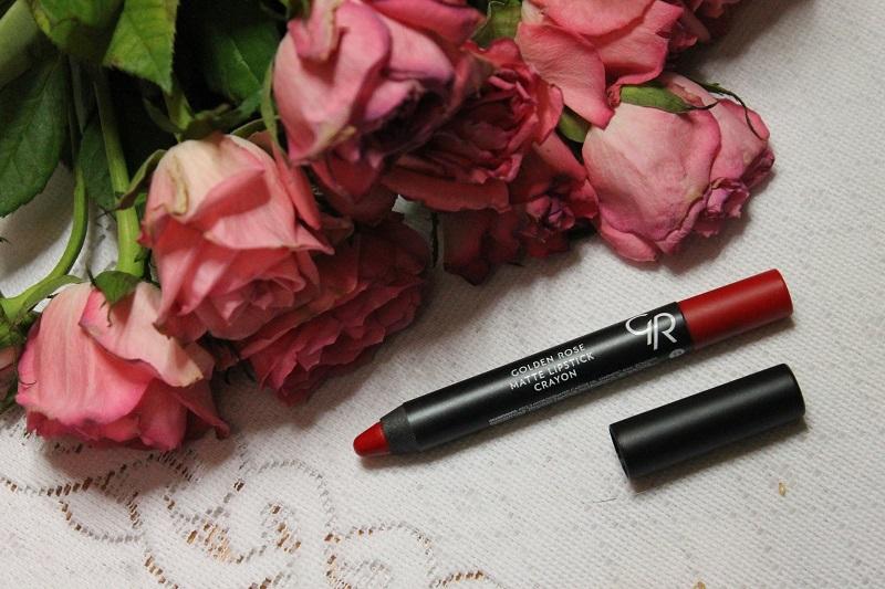 Golden Rose Matte Crayon Lipstick nr 23