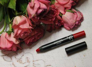 golden rose matowa szminka w kredce