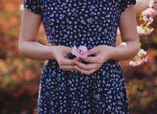 modny trend - kwiaty