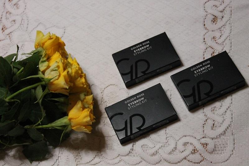 Golden Rose zestaw do stylizacji brwi