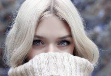 jak chronić twarz przed mrozem