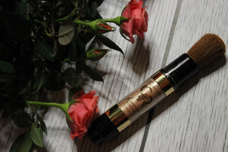 puder diamentowy golden rose