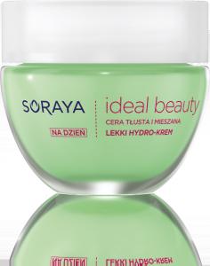 soraya ideal beauty hydro krem do cery tłustej i mieszanej