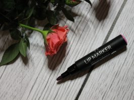 golden rose lip marker