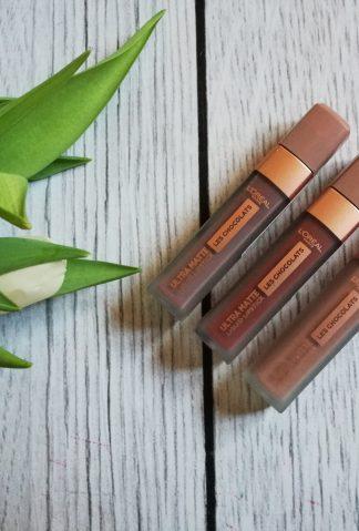 L`Oreal Les Chocolats Ultra Matte Liquid Lipstick