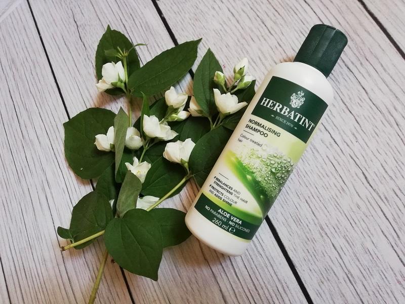 Aloesowy szampon normalizujący Herbatint