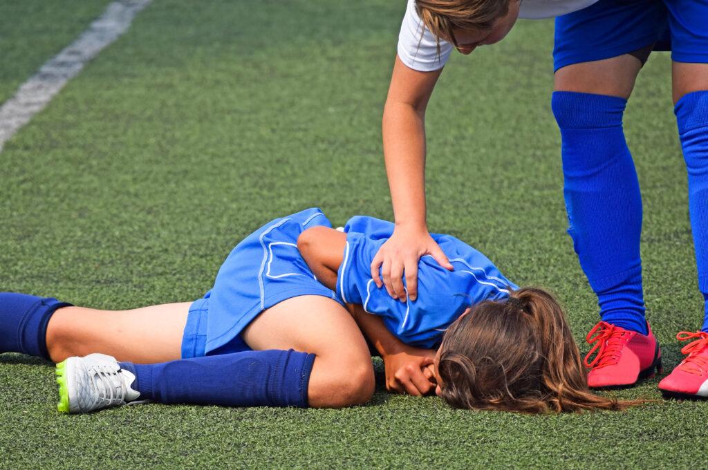Sportowe urazy u młodzieży szkolnej