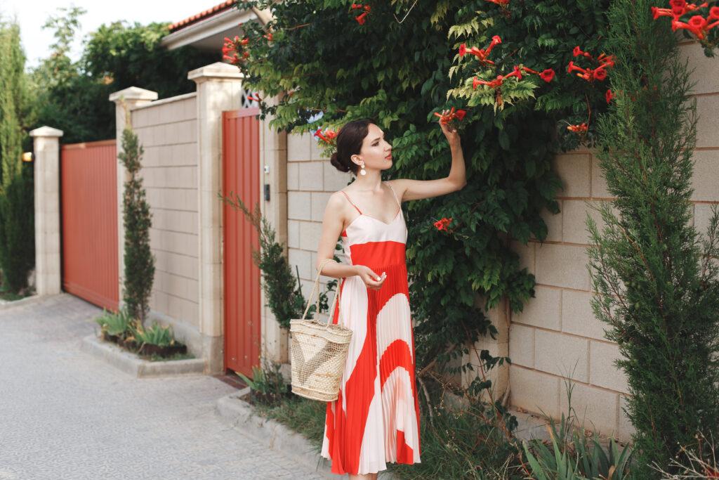 Sukienki midi na lato