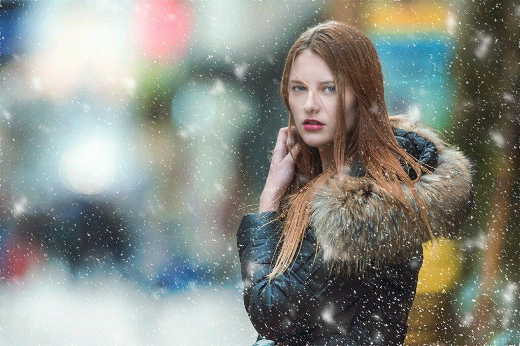 Damskie kurtki na zimę