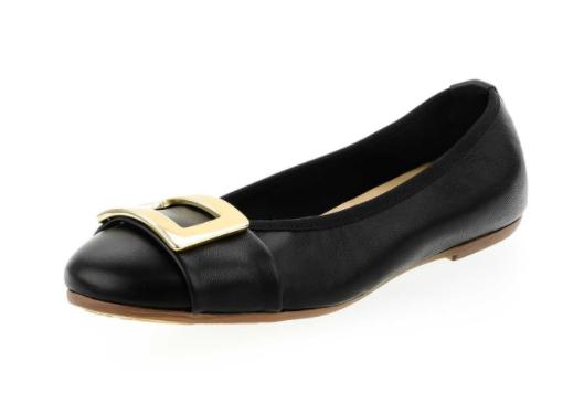 Baletki damskie czarne