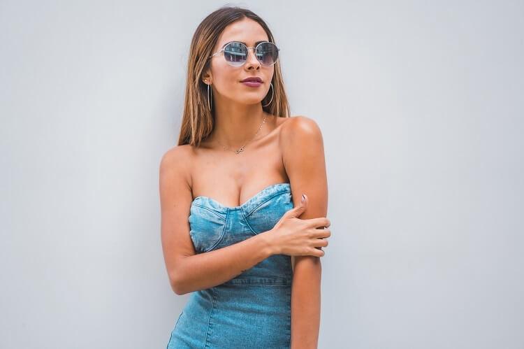 Sukienki dżinsowe